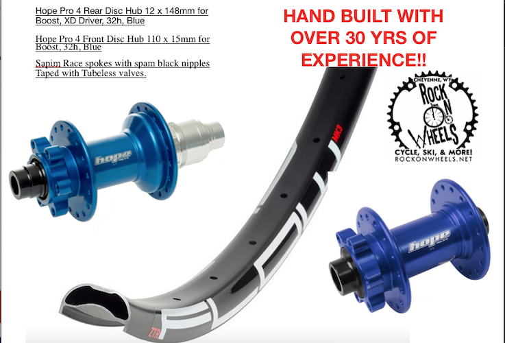 Blue Hope Pro 4 Front Disc Hub 110 x 15mm for Boost 32h